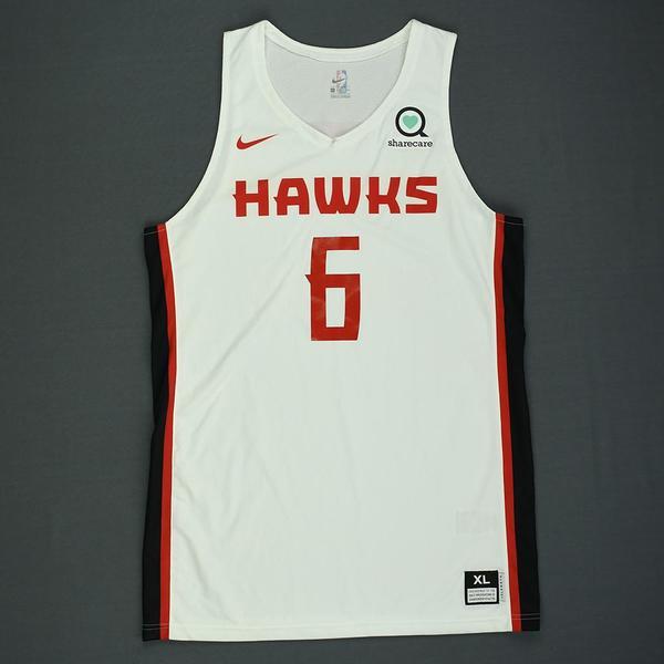 Atlanta Hawks Omari Spellman Statement Red Swingman Jersey