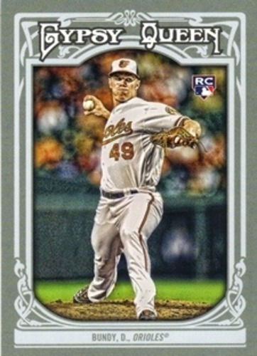 Photo of 2013 Topps Gypsy Queen #41 Dylan Bundy Rookie Card