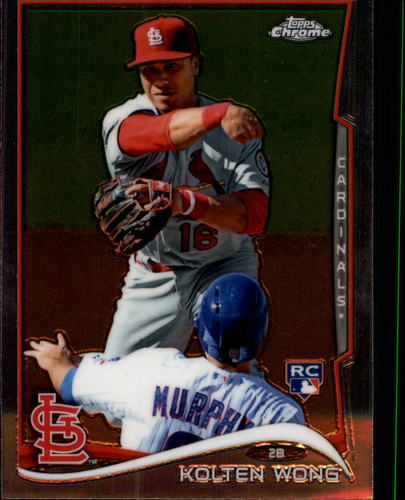 Photo of 2014 Topps Chrome #188 Kolten Wong Rookie Card