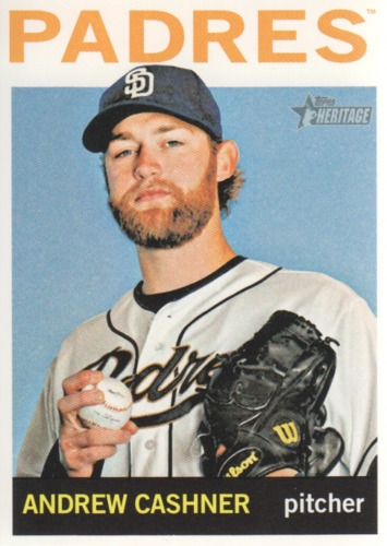 Photo of 2013 Topps Heritage #25 Andrew Cashner
