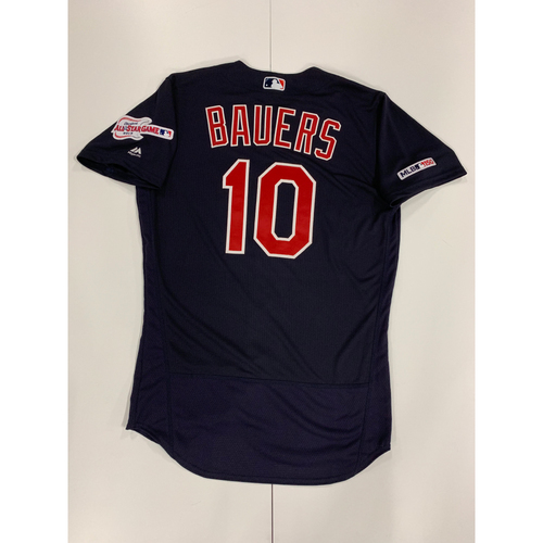 Jake Bauers 2019 Team Issued Alternate Road Jersey