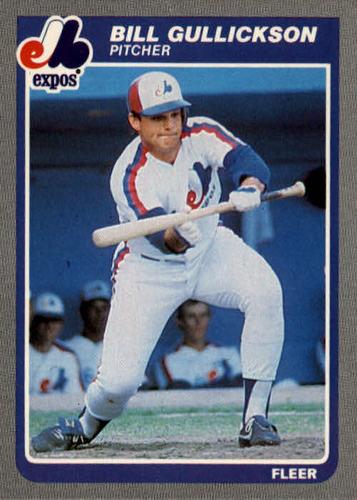 Photo of 1985 Fleer #399 Bill Gullickson