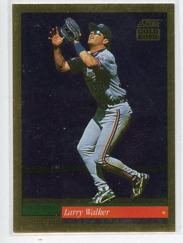 Photo of 1994 Score Gold Rush #376 Larry Walker