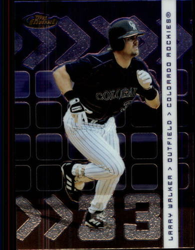 Photo of 2002 Finest #61 Larry Walker
