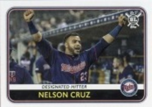 Photo of 2020 Topps Big League #4 Nelson Cruz