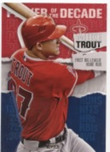 Photo of 2020 Topps Player of the Decade Mike Trout #MT1 Mike Trout