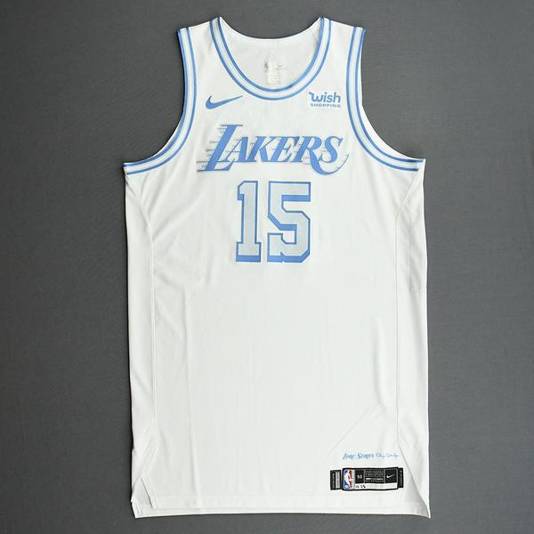 Image of Montrezl Harrell - Los Angeles Lakers - Christmas Day' 20 - Game-Worn City Edition Jersey - Scored 22 Points
