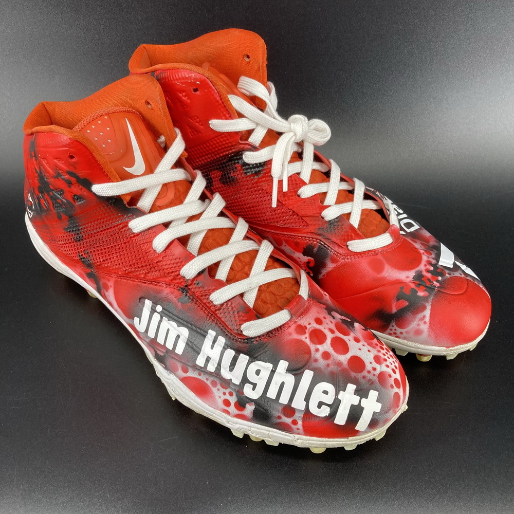 My Cause My Cleats - Browns Charlie Hughlett Game Used Cleats