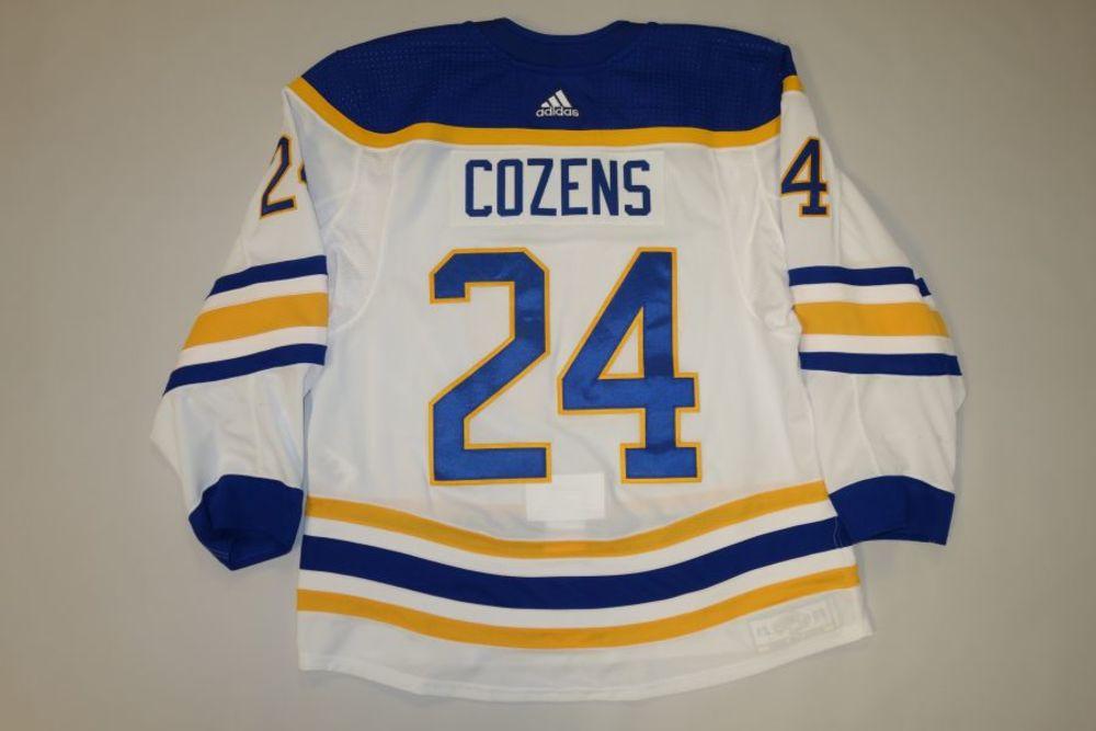 Dylan Cozens 2020-21 Buffalo Sabres Set 2 Away Jersey