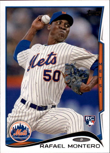 Photo of 2014 Topps Update #US278A Rafael Montero RC