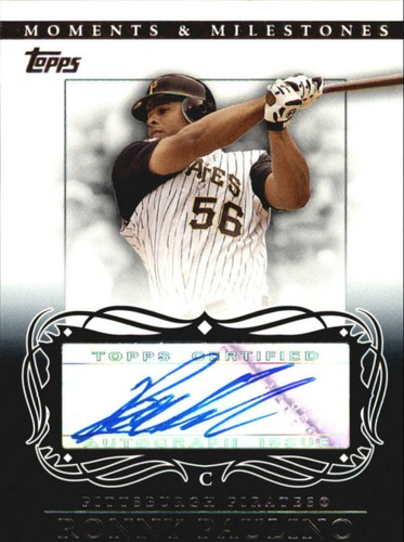 Photo of 2007 Topps Moments and Milestones Milestone Autographs #RP Ronny Paulino A