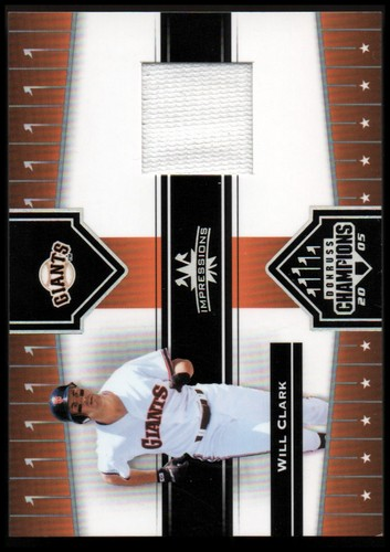 Photo of 2005 Donruss Champions Impressions Material #48 Will Clark Pants T5
