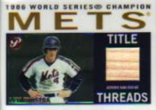 Photo of 2005 Topps Pristine Legends Title Threads Relics #LD Len Dykstra Bat B
