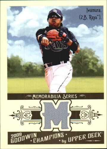 Photo of 2009 Upper Deck Goodwin Champions Memorabilia #AI Akinori Iwamura