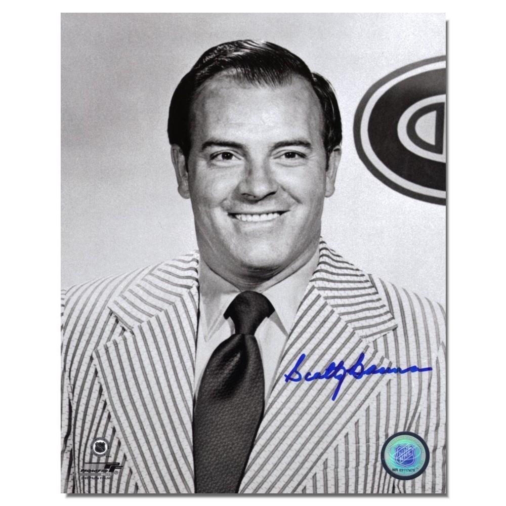 Scotty Bowman Autographed 8x10 photo