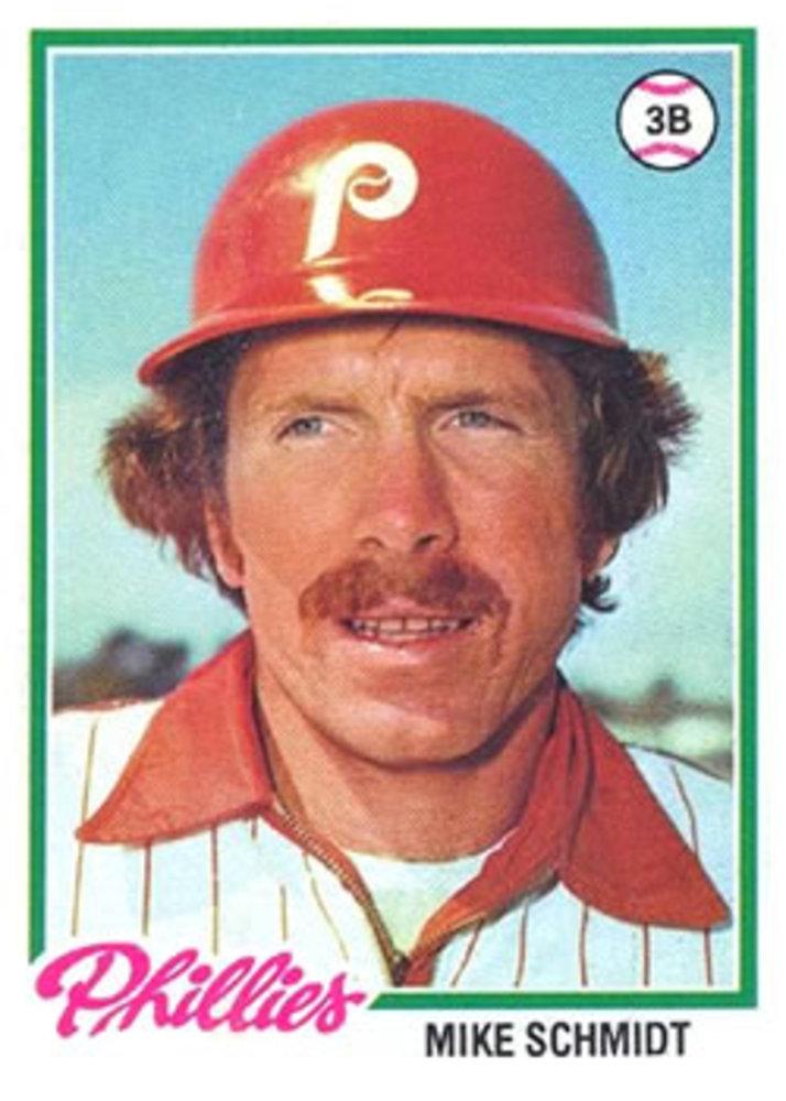 1978 Topps #360 Mike Schmidt -- Hall of Famer