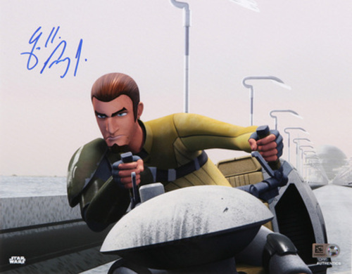 Freddie Prinze Jr. as Kanan Jarrus 8x10 Autographed In Blue Ink Photo