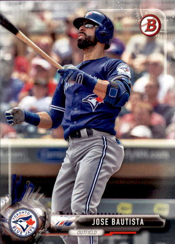 Photo of 2017 Bowman #10 Jose Bautista