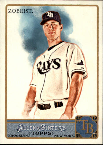 Photo of 2011 Topps Allen and Ginter #233 Ben Zobrist