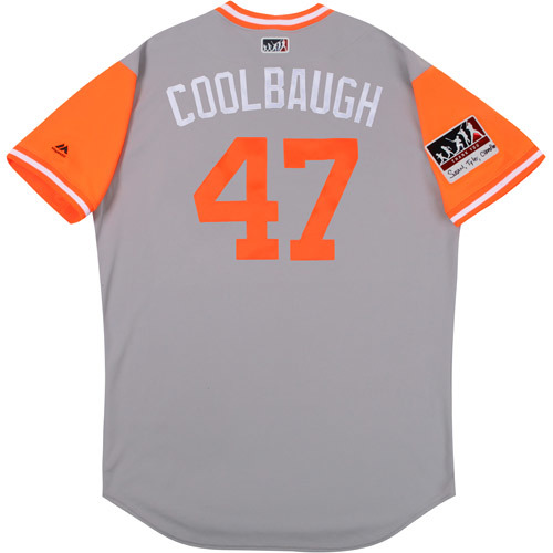 "Photo of Scott ""Coolbaugh"" Coolbaugh Baltimore Orioles Game-Used Players Weekend Jersey"