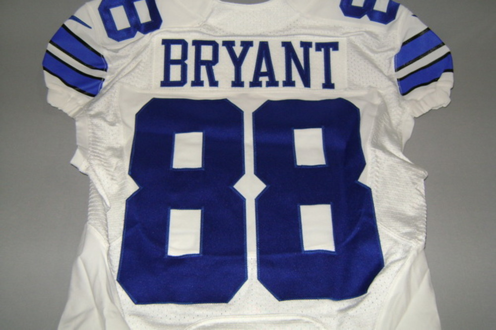 Nfl Auction Sts Cowboys Dez Bryant Game Issued Cowboys