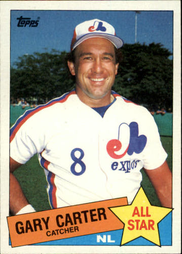 Photo of 1985 Topps #719 Gary Carter Hall of Fame Class of 2003