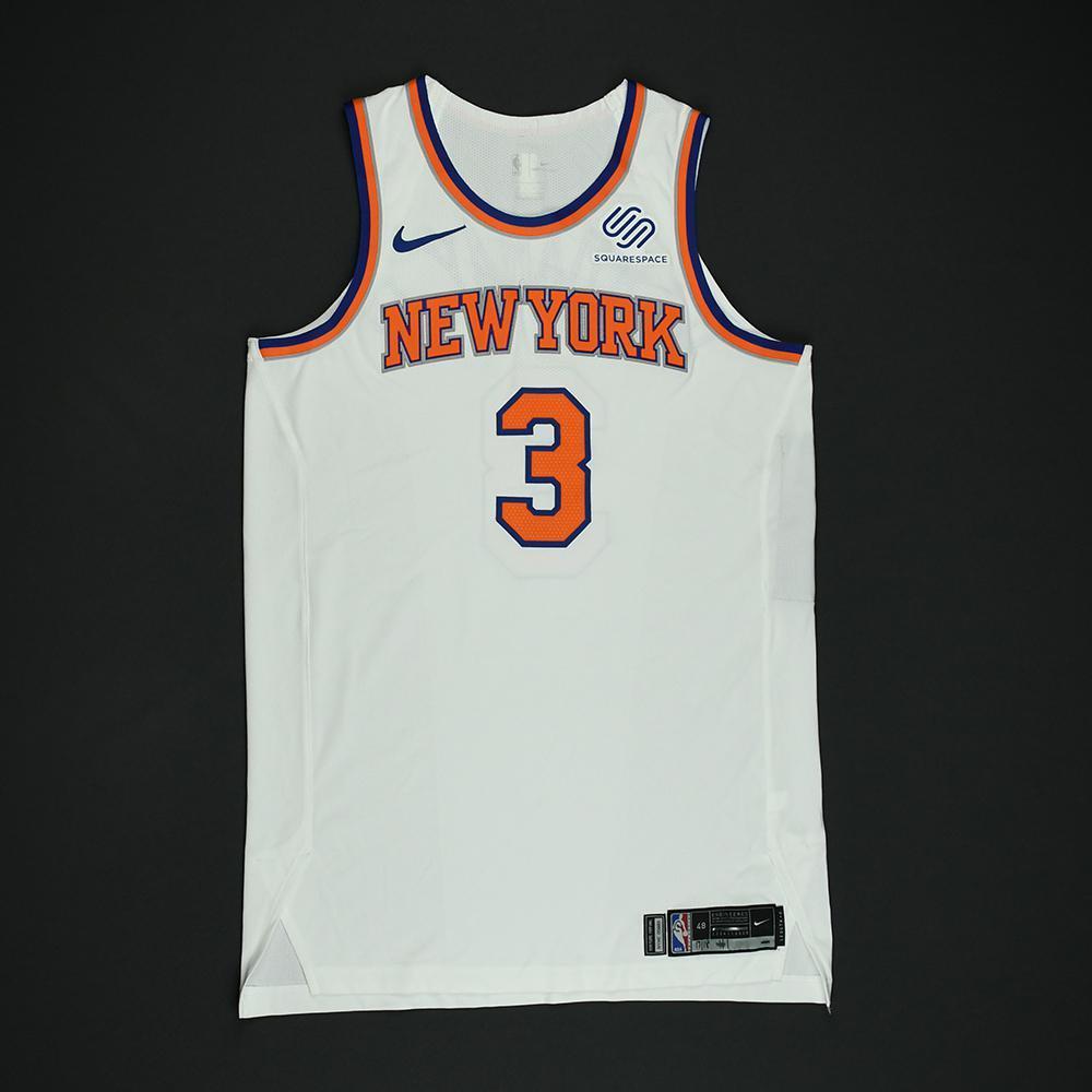 Tim Hardaway Jr. - New York Knicks - NBA Christmas Day '17 Game-Issued Jersey