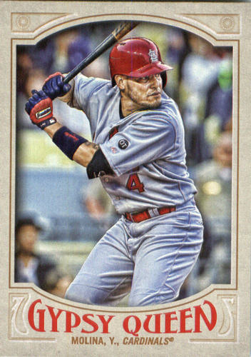Photo of 2016 Topps Gypsy Queen #102 Yadier Molina