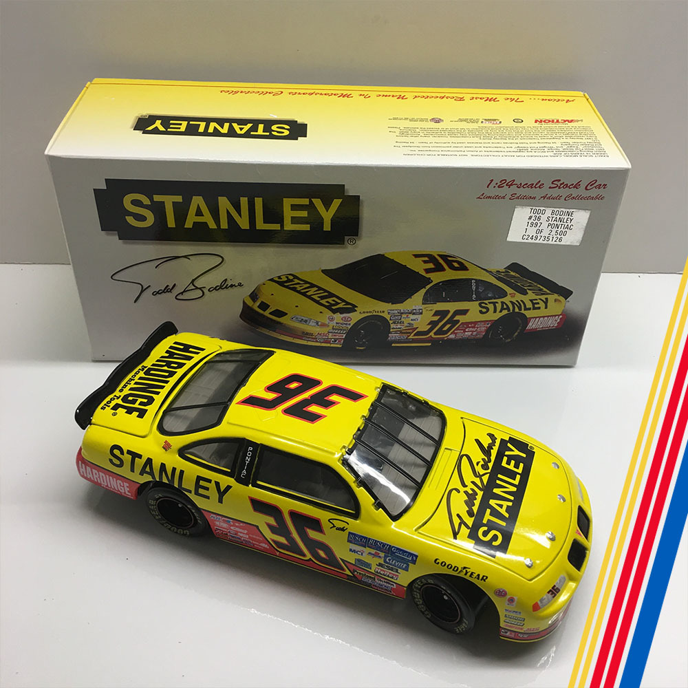 NASCAR's Todd Bodine Autographed Diecast!