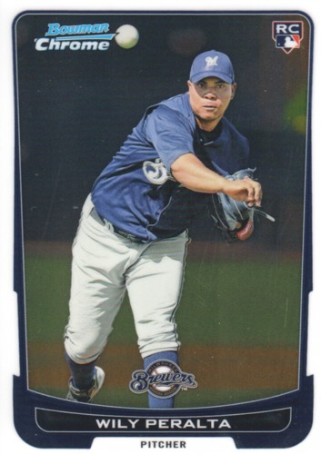 Photo of 2012 Bowman Chrome #199 Wily Peralta RC