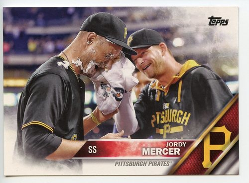 Photo of 2016 Topps #527 Jordy Mercer