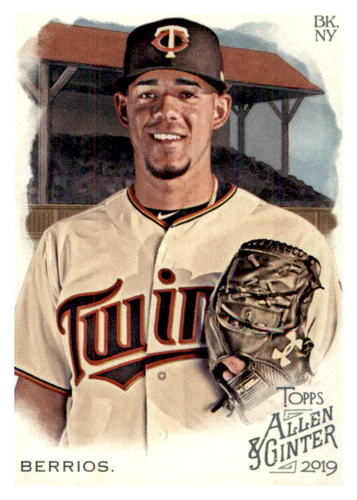 Photo of 2019 Topps Allen and Ginter #114 Jose Berrios