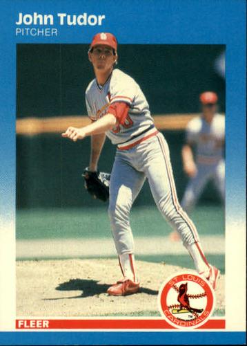 Photo of 1987 Fleer #310 John Tudor