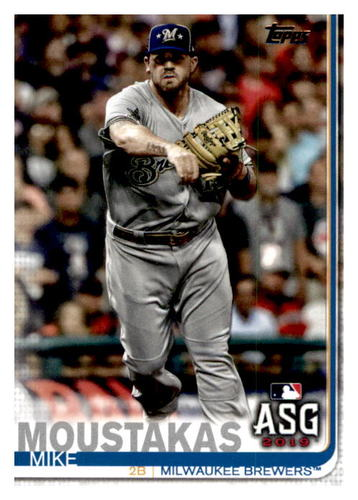 Photo of 2019 Topps Update #US49 Mike Moustakas AS