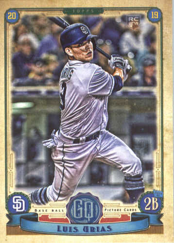 Photo of 2019 Topps Gypsy Queen #158 Luis Urias RC
