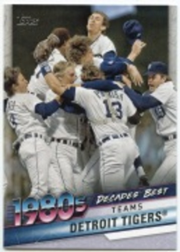 Photo of 2020 Topps Decades' Best Series 2 #DB54 Detroit Tigers