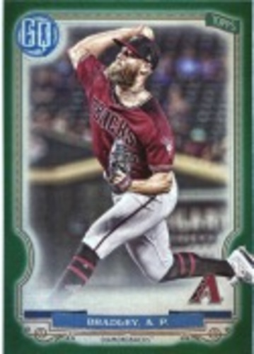 Photo of 2020 Topps Gypsy Queen Green #296 Archie Bradley