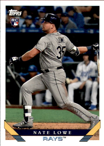 Photo of 2019 Topps Archives #216 Nate Lowe RC