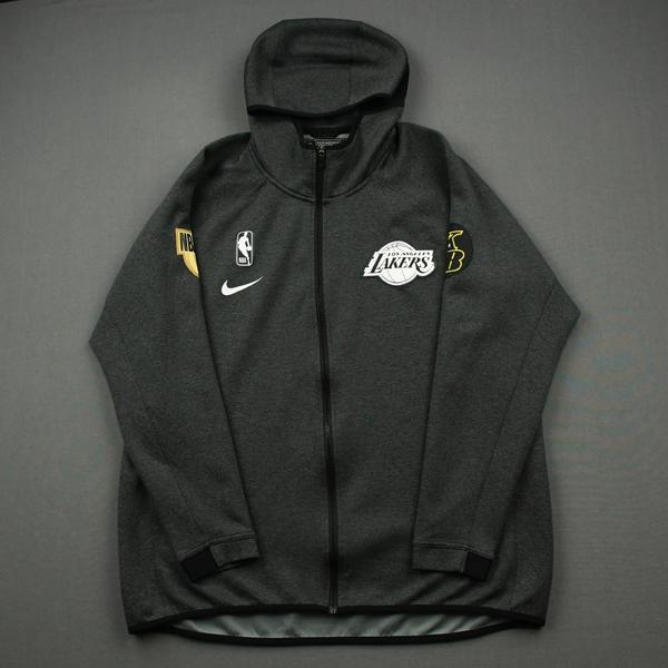 Image of Danny Green - Los Angeles Lakers - 2020 NBA Finals Game 5 - Game-Worn Hooded Warmup Jacket