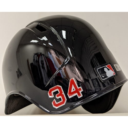 Photo of Team Issued #34 Batting Helmet