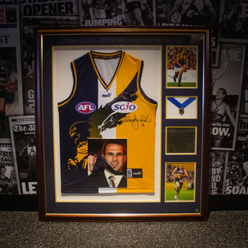 Photo of The First Brownlow Medal - Chris Judd 2004