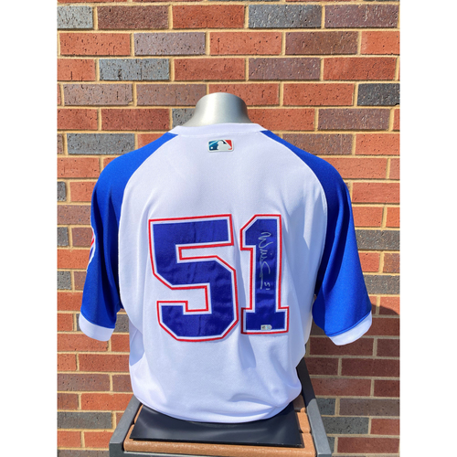 Will Smith MLB Authenticated, Autographed and Game-Used 1974 Jersey