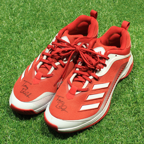 Photo of Game-Used & Autographed Trainer Shoes: Terry Bradshaw #44 (DET @ KC 5/23/21) - Size 12
