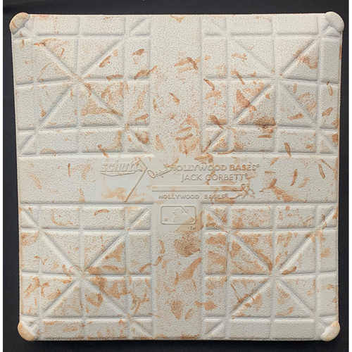 Photo of Baltimore Orioles at Boston Red Sox April 2, 2021 Game Used Third Base - Used During the 5th and 6th Inning