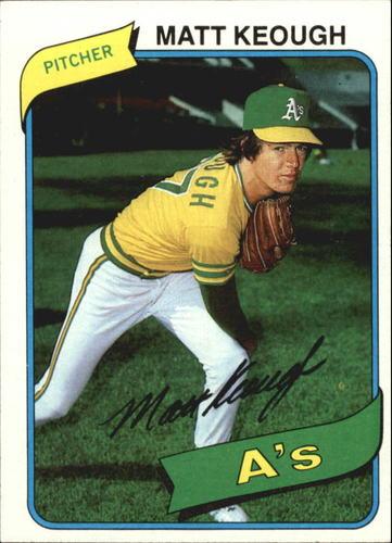 Photo of 1980 Topps #134 Matt Keough