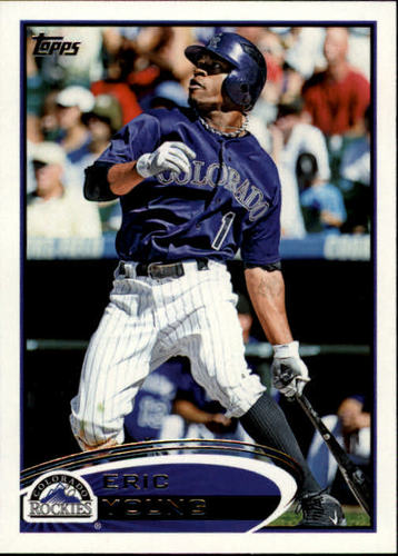 Photo of 2012 Topps #242 Eric Young