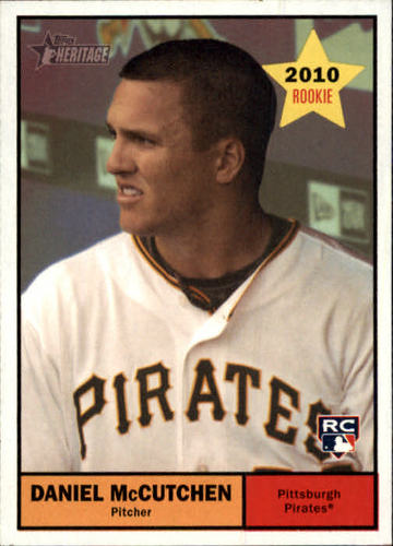 Photo of 2010 Topps Heritage #54 Daniel McCutchen RC