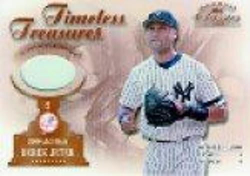 Photo of 2001 Donruss Classics Timeless Treasures #TT4 Derek Jeter Base