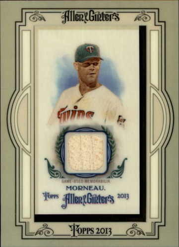 Photo of 2013 Topps Allen and Ginter Framed Mini Relics #JM Justin Morneau