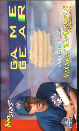 Photo of 2000 Topps Stars Game Gear Bats #GGB5 Vernon Wells C